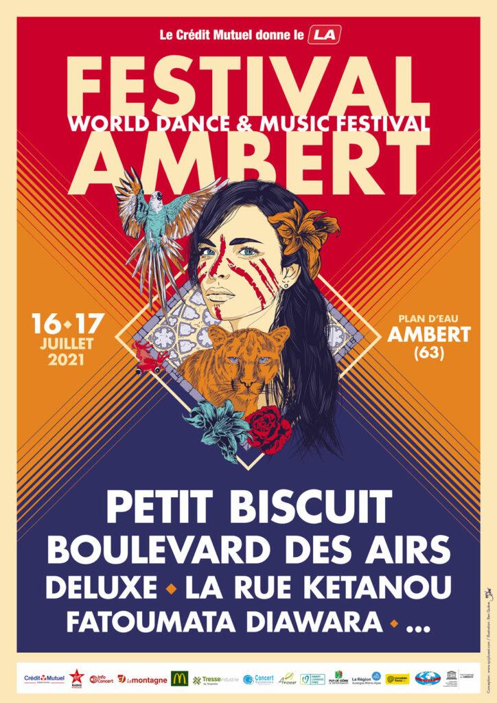 Affiche Festival Ambert 2021