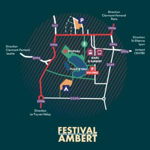 Comment venir au Festival Ambert ?
