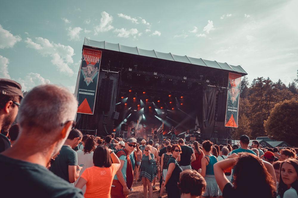 Grande Scène du Festival Ambert