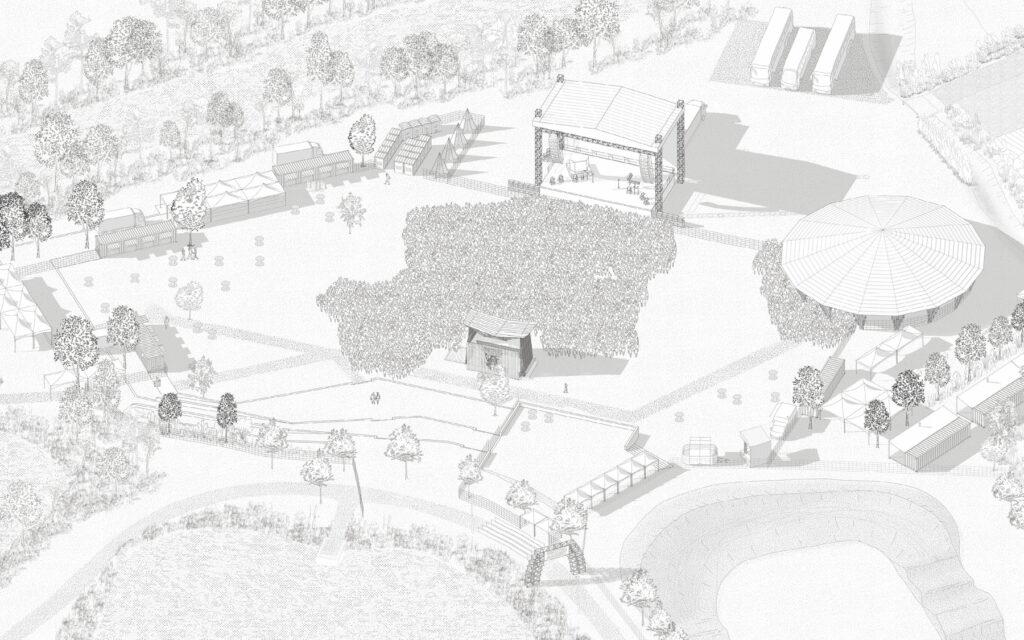Projet d'aménagement du Festival Ambert